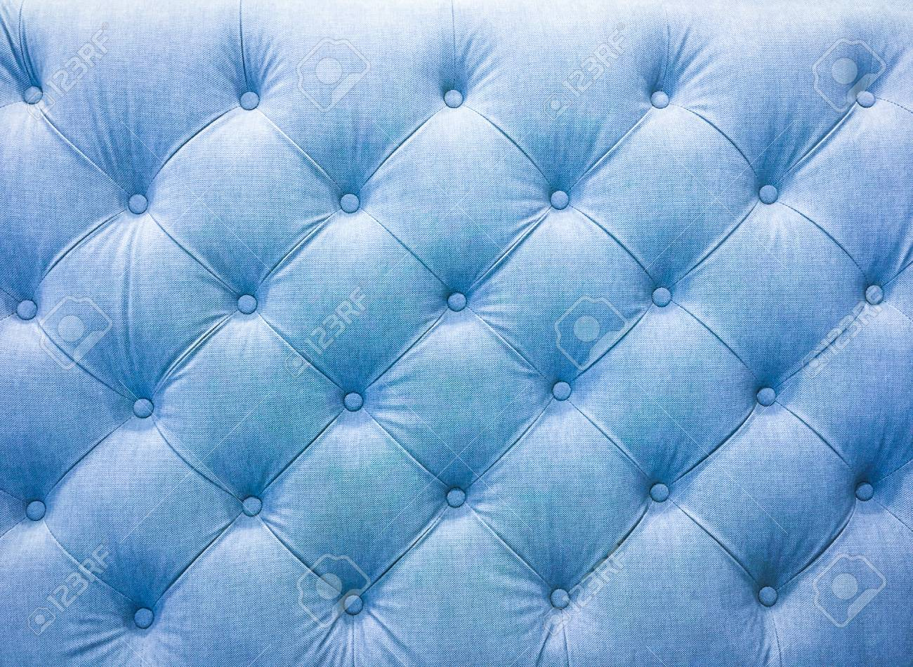 Upholstery Sofa Fabric With Rivets. Blue Tone. Stock Photo, Picture And Royalty Free Image. Image 109206498.