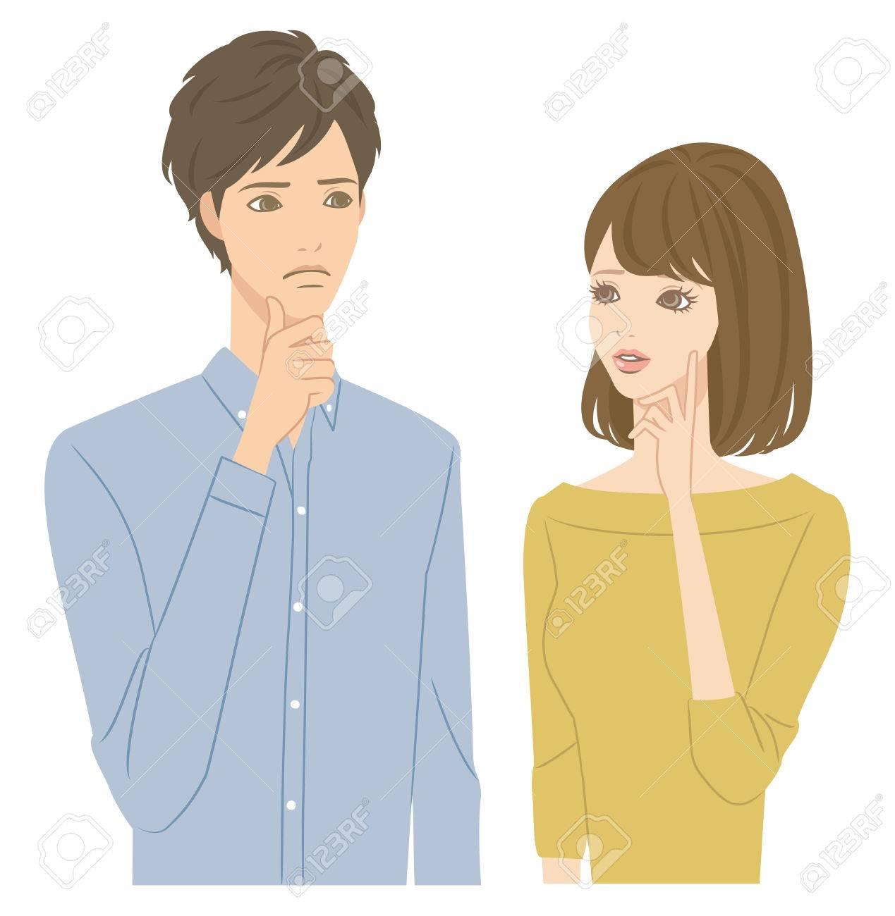 Worried couple - 60315604