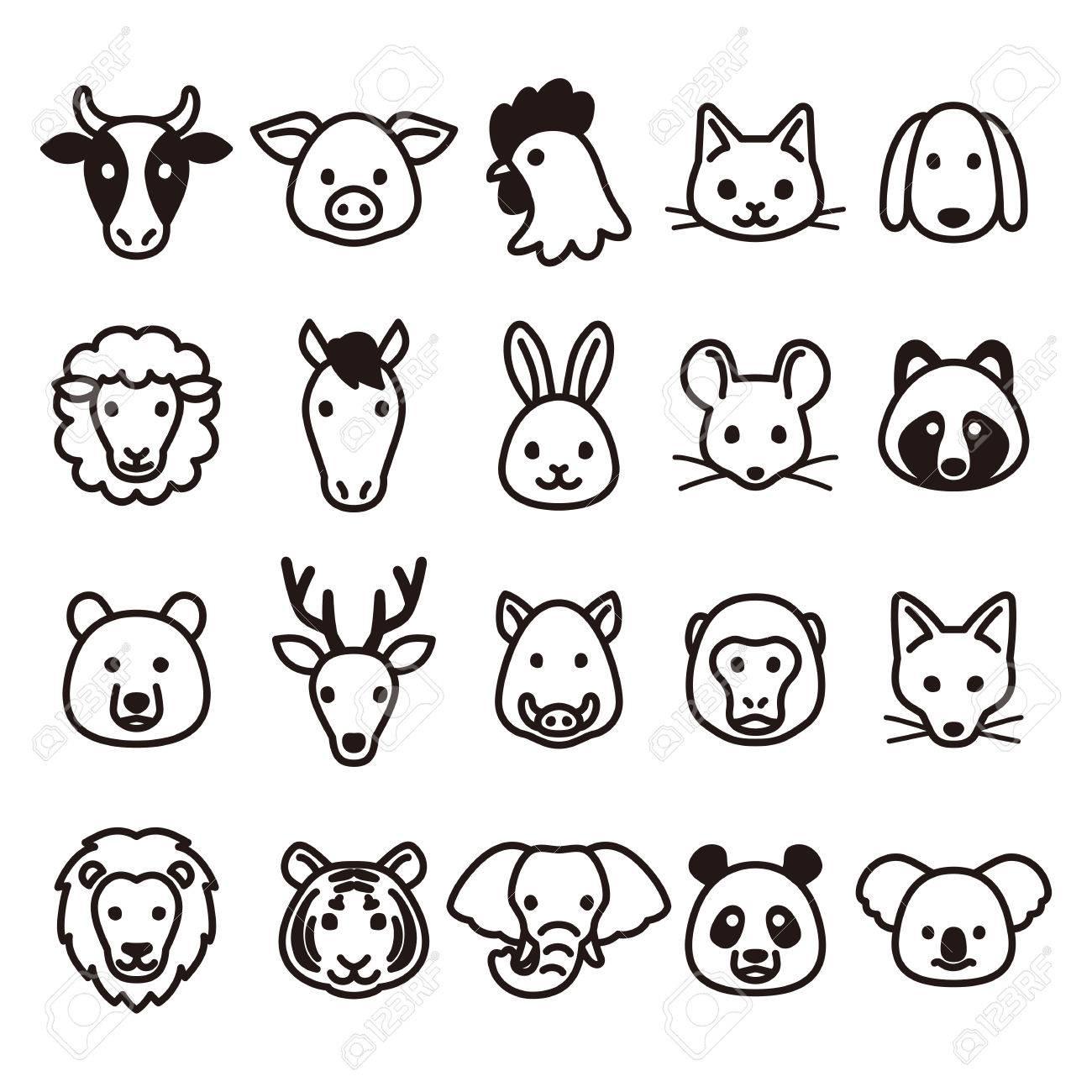 Animal icons - 63928594