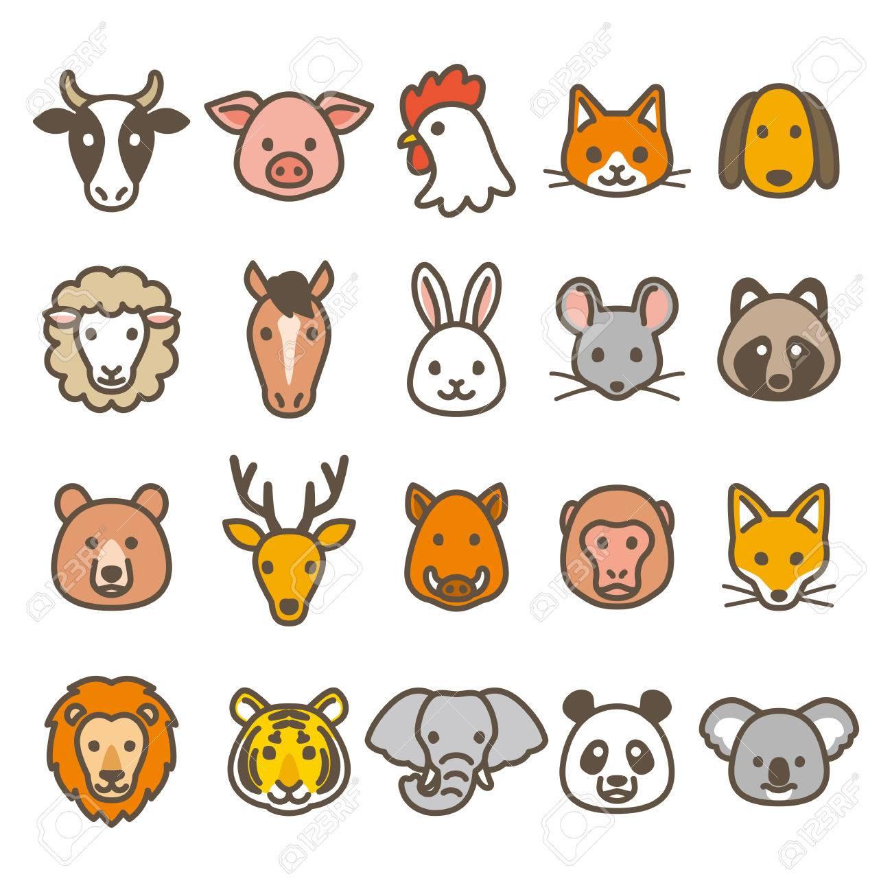 Animal icons - 63928595