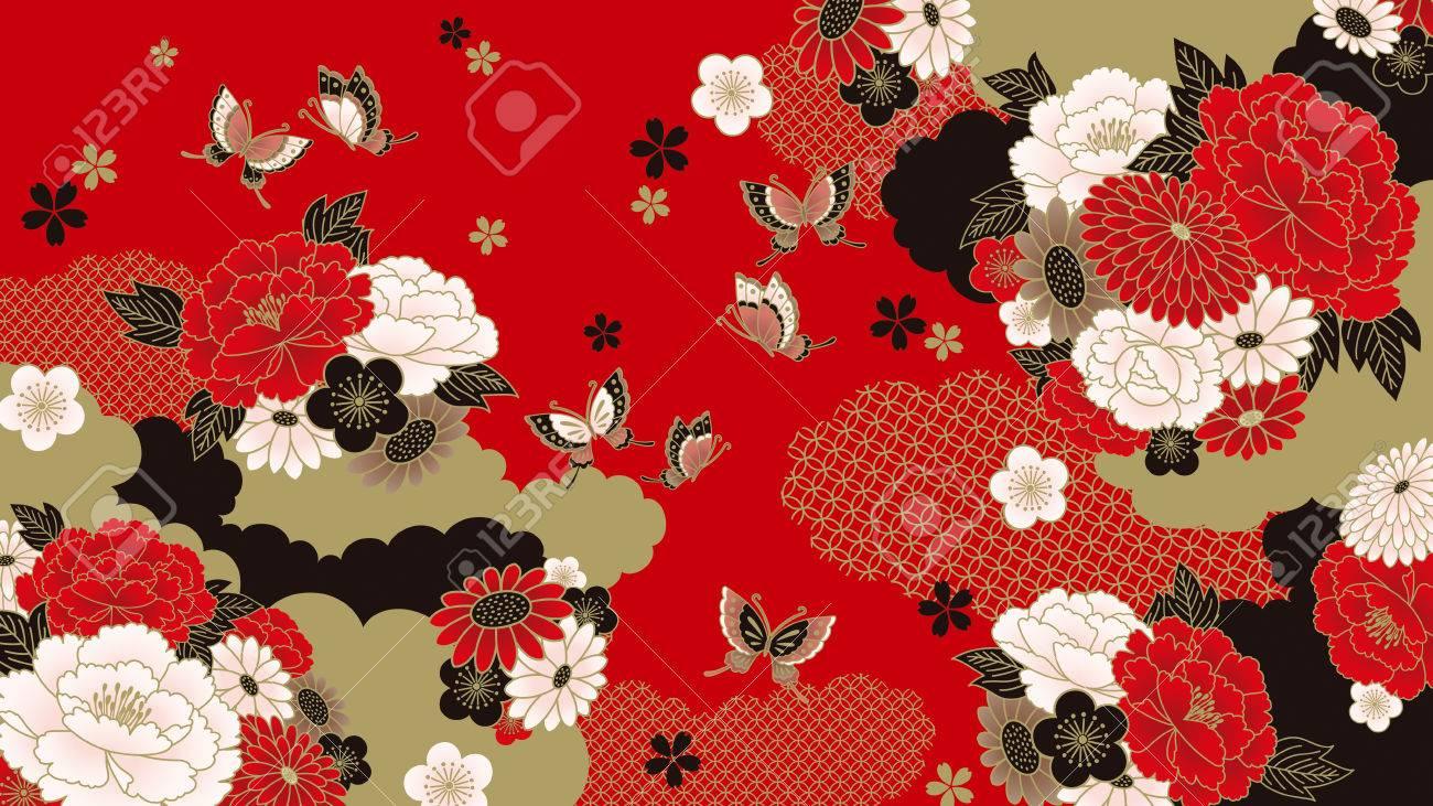 Japanese background - 68723338