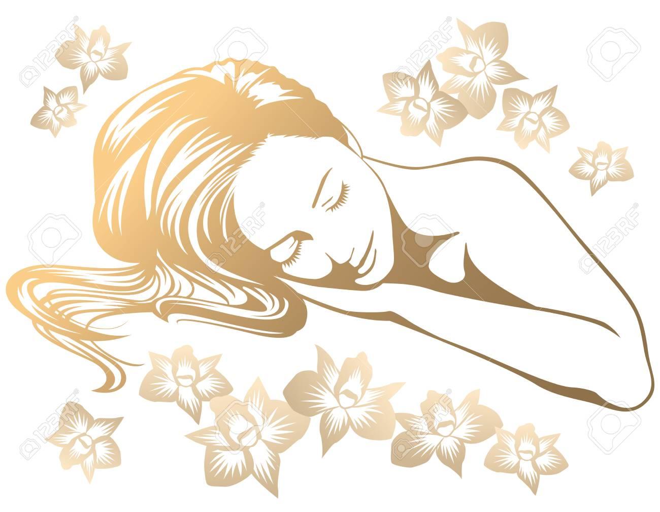 Woman in spa salon - 121740729