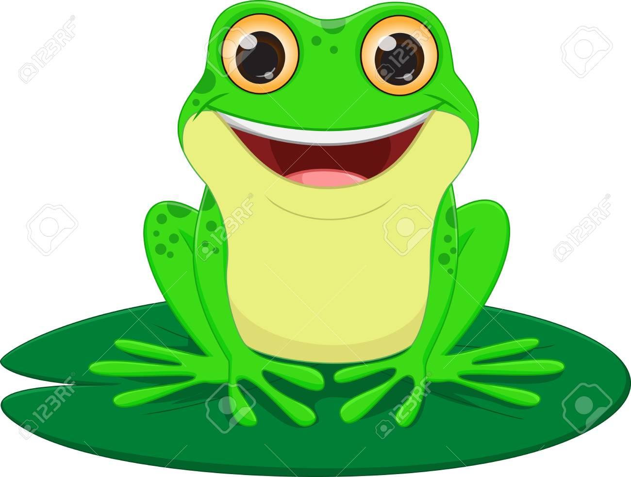 cute Frog cartoon - 60374834