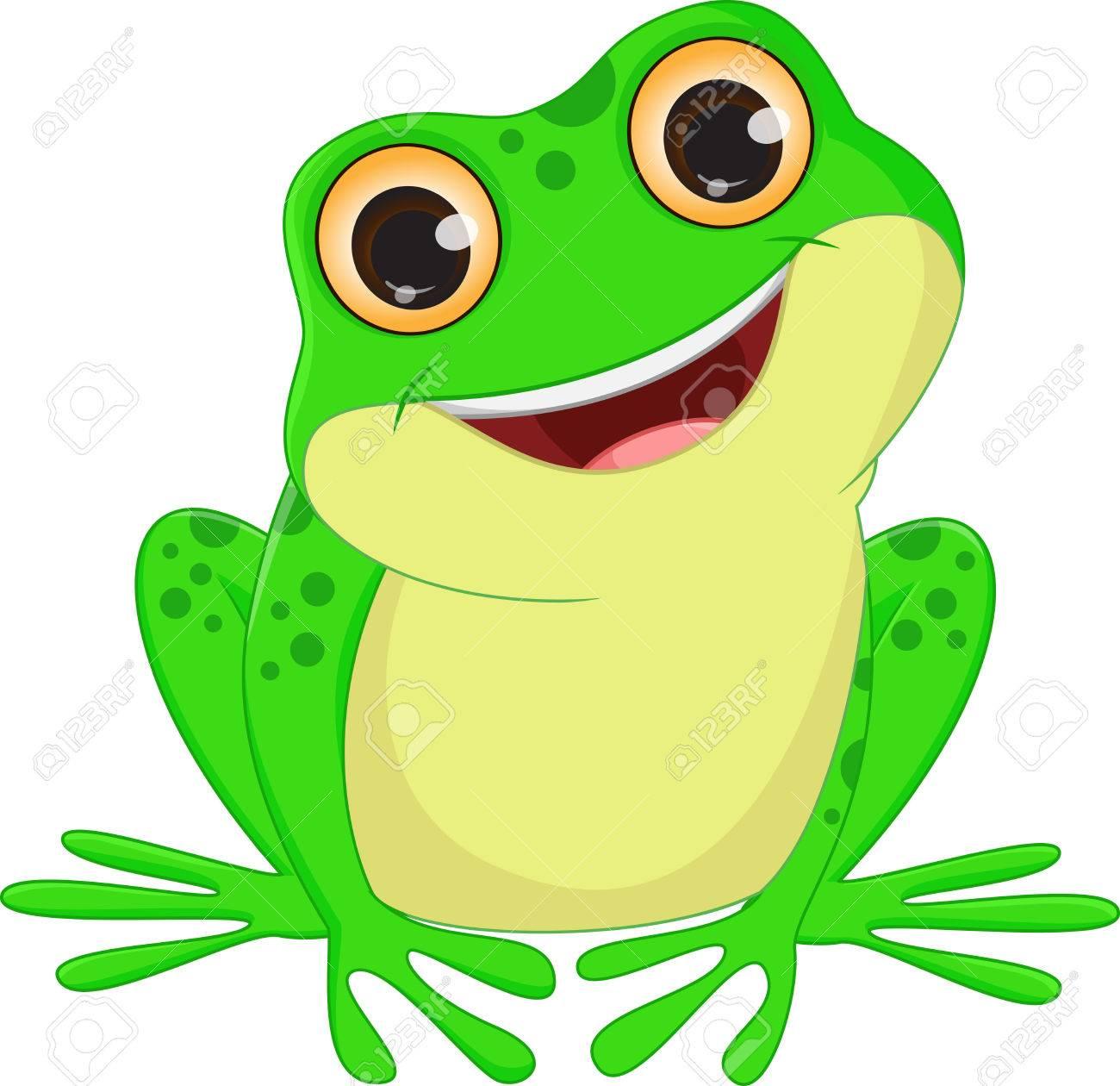 cute Frog cartoon - 60374835