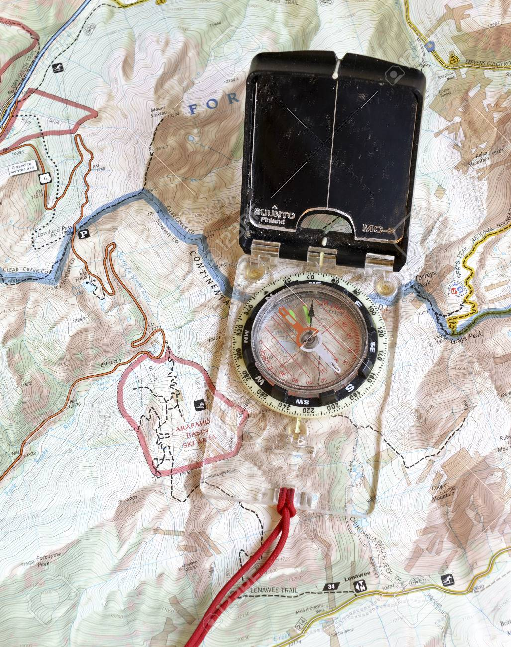 Navigation Safety Survival Orienteering Compass Maps - Us map of travel saftey