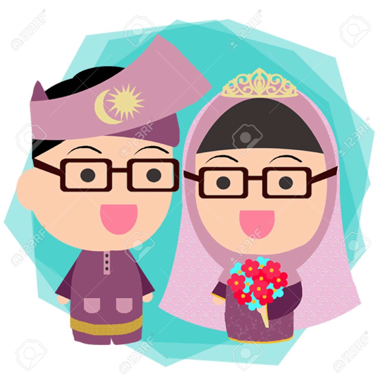 Wedding Malay Pengantin Royalty Free Cliparts Vectors And Stock