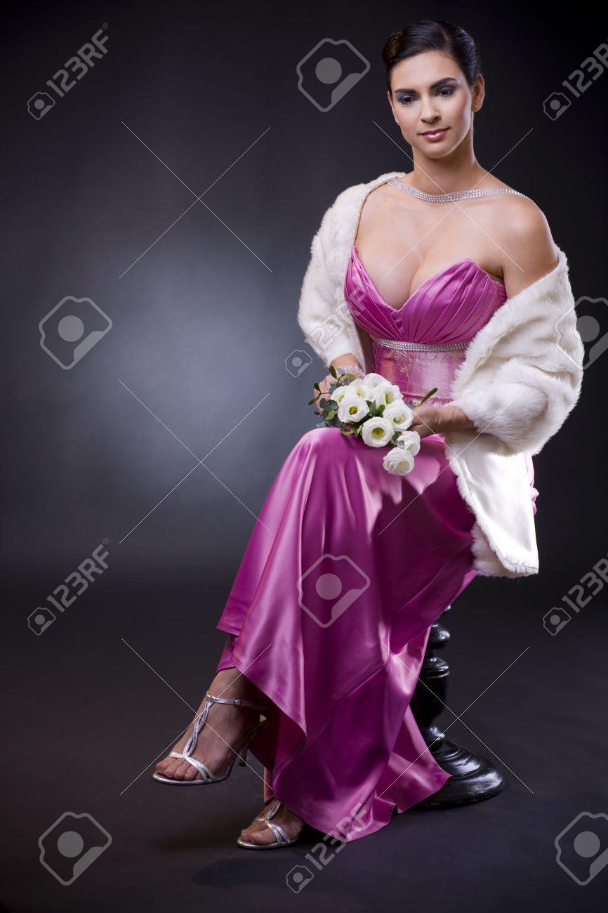 Fantástico Vestido De Fiesta Blanco Chica Chisme Friso - Ideas de ...