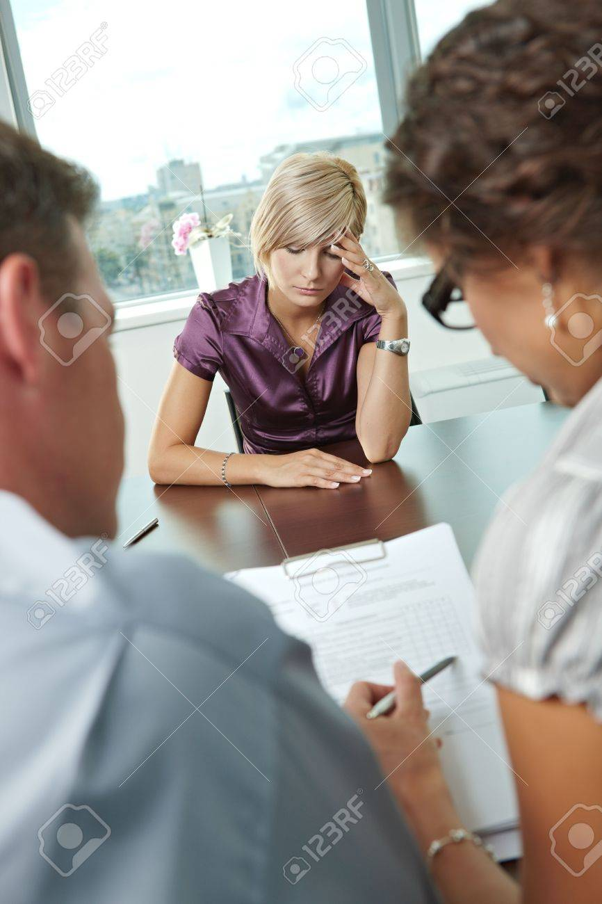 w applicant after failed job interview over the shoulder stock photo w applicant after failed job interview over the shoulder view