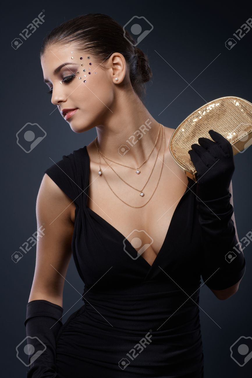 Black Dress Gloves