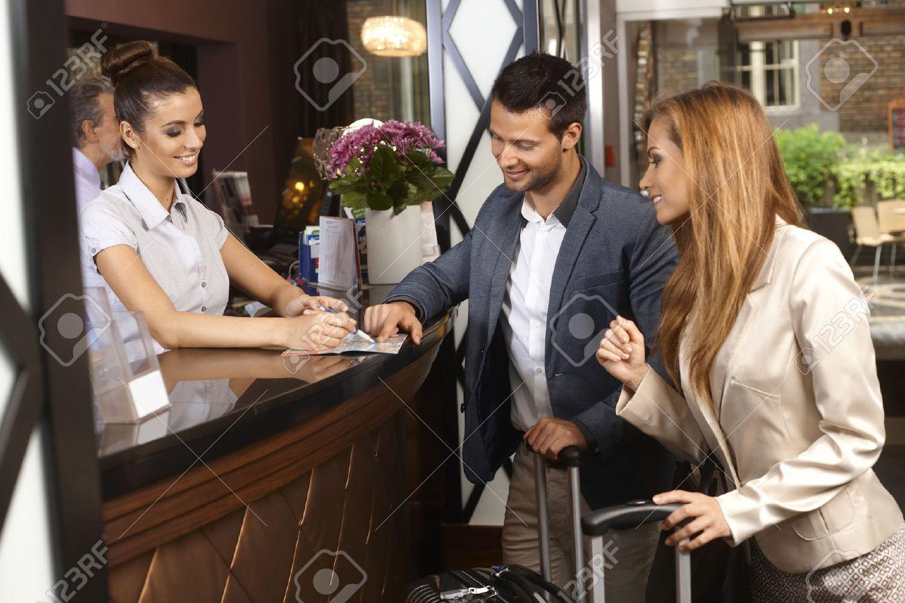 Hotel Receptionist Stock Photos. Royalty Free Hotel Receptionist ...