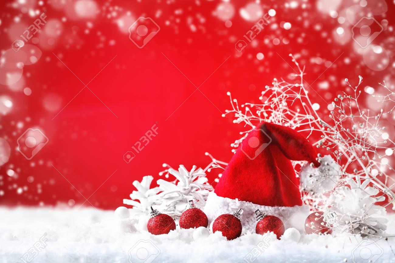 Joyeux Noel Et Nouvel An.Joyeux Noel Et Bonne Annee Un Fond De Nouvel An Avec Des Decorations De Nouvel An Fond Avec Espace De Copie