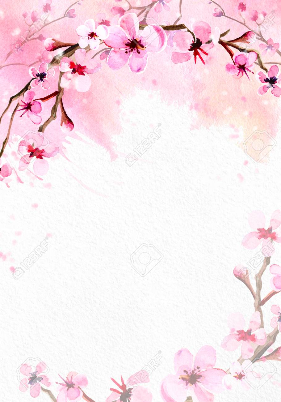 Floral Watercolor Background Pinterest