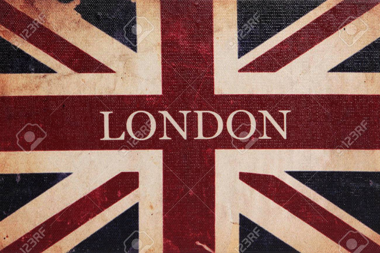 Old Vintage British Uk National Flag Wallpaper