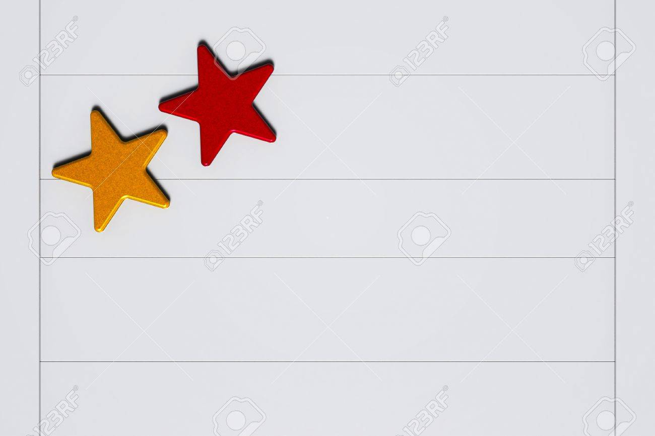 Painted stars on the ceramic background Stock Photo - 16819656