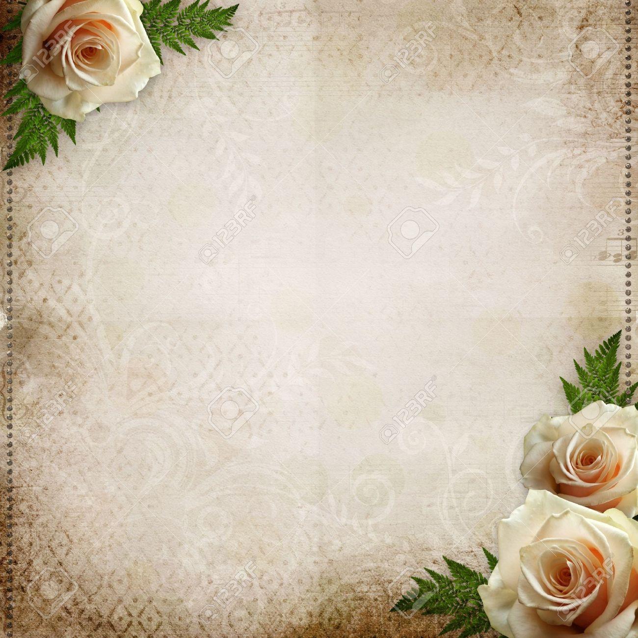 Vintage Schone Hochzeit Hintergrund Lizenzfreie Fotos Bilder Und