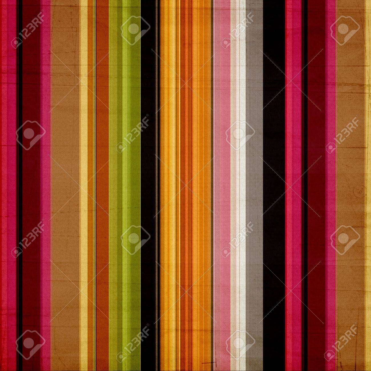 Shabby textile Background with colorful  stripes Stock Photo - 11826901