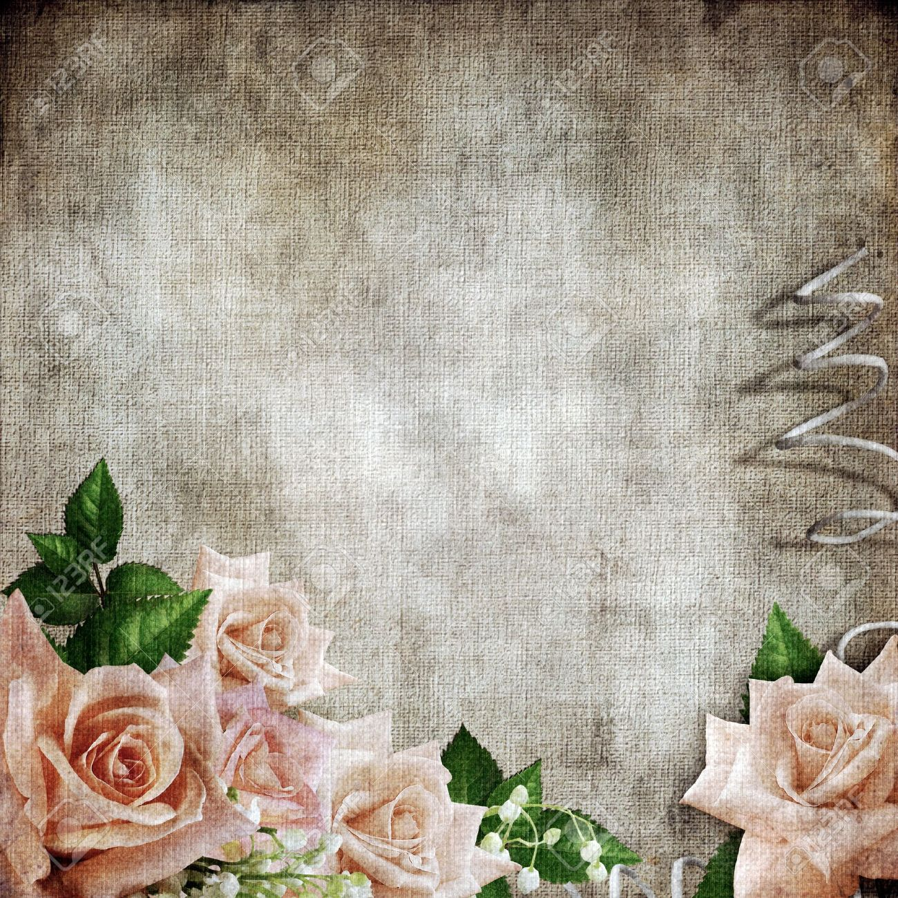 wedding vintage romantic background with roses stock photo picture and royalty free image image 12148544 wedding vintage romantic background with roses