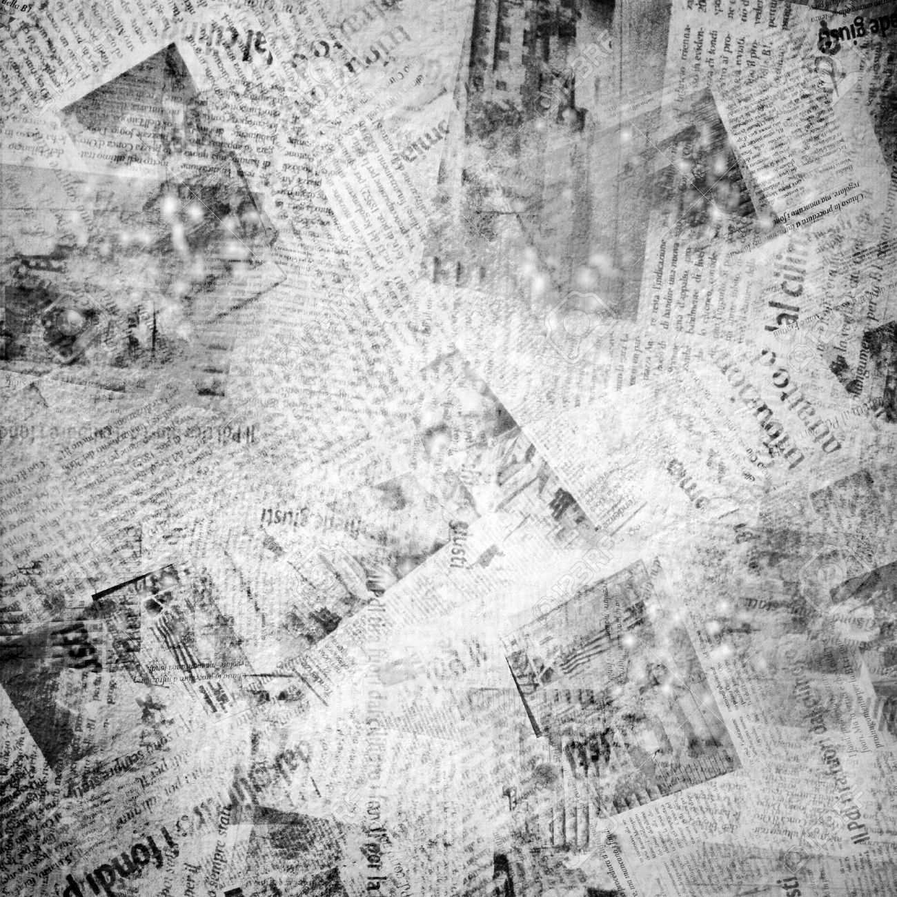 Super Old Background With Newspaper Stock Photo, Picture And Royalty  OX79