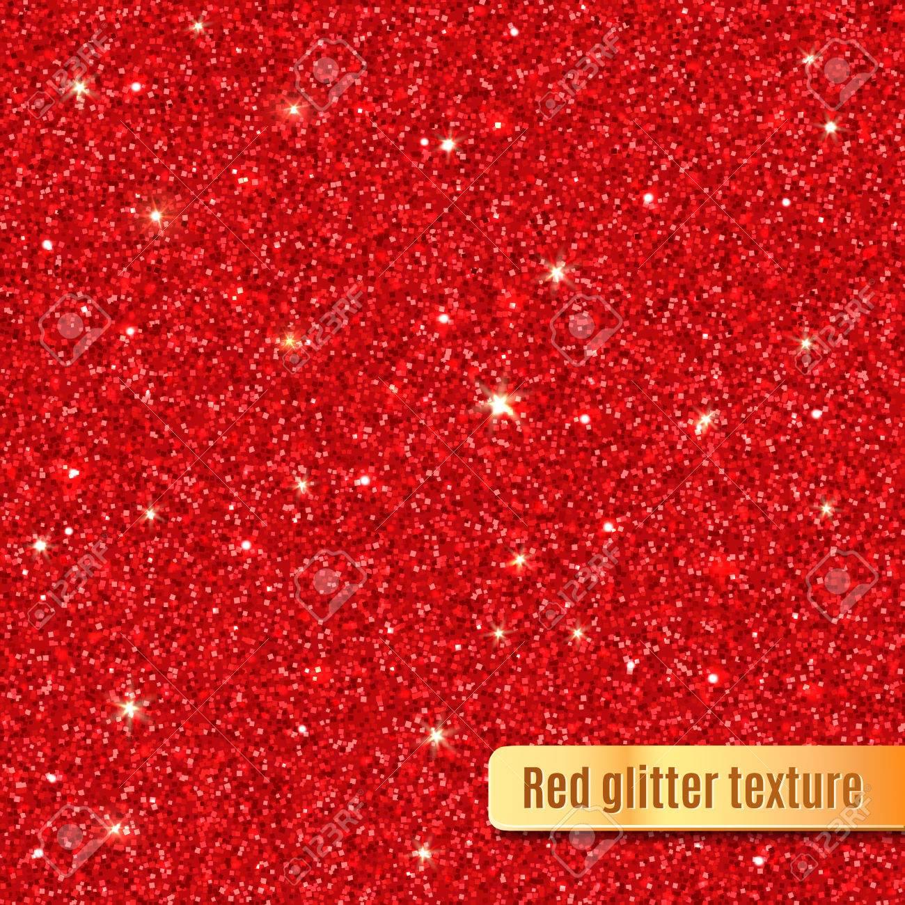 Red glitter texture. - 54017610