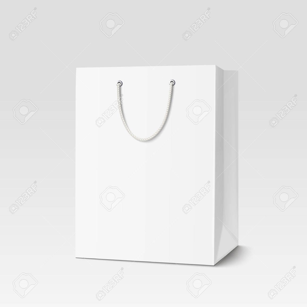 Shopping paper bag. - 54017607