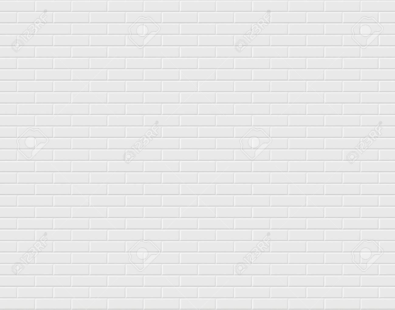White brick wall. - 60913362