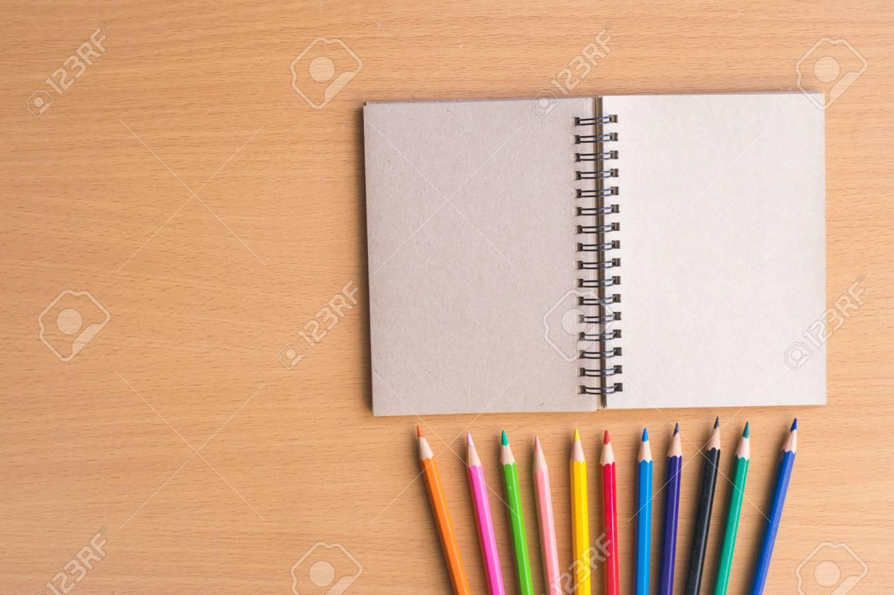 教育 ビジネス写真木板 Background Using 壁紙に鉛筆でメモ帳 紙と