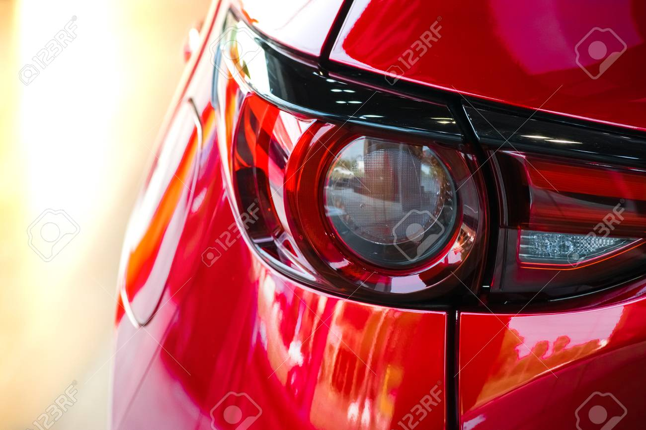 Car Tail Light Red Color For Customers. Using Wallpaper Or ...
