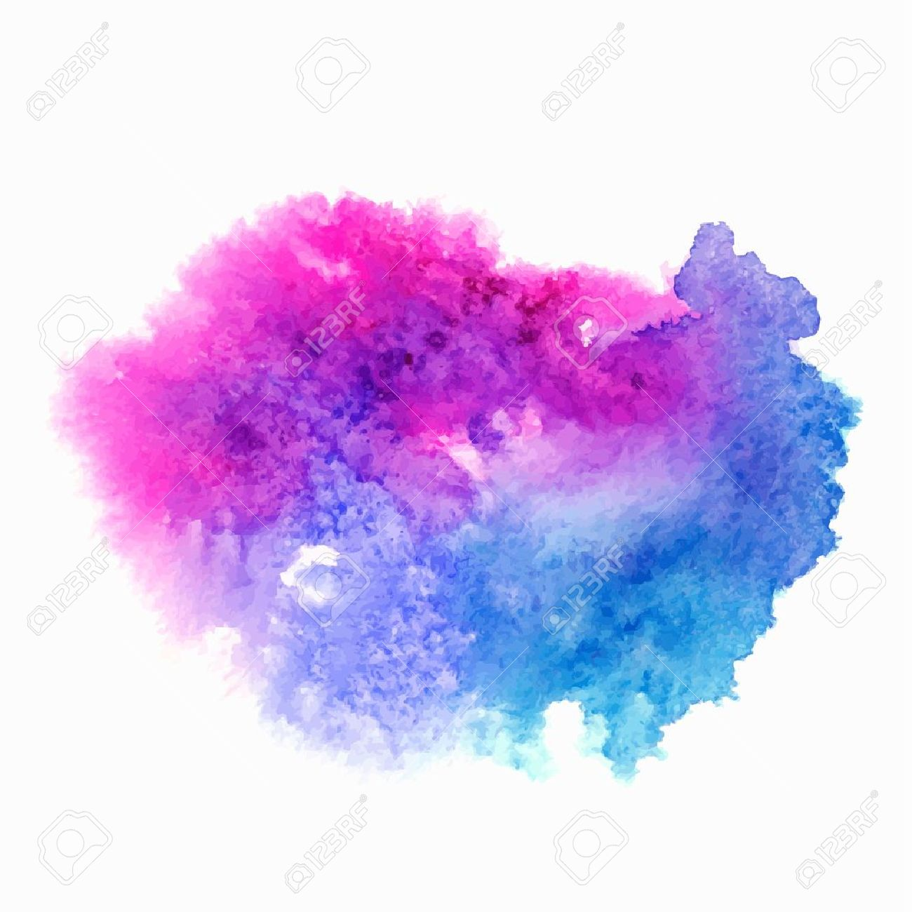 Abstract watercolor splash stock vector 25020292