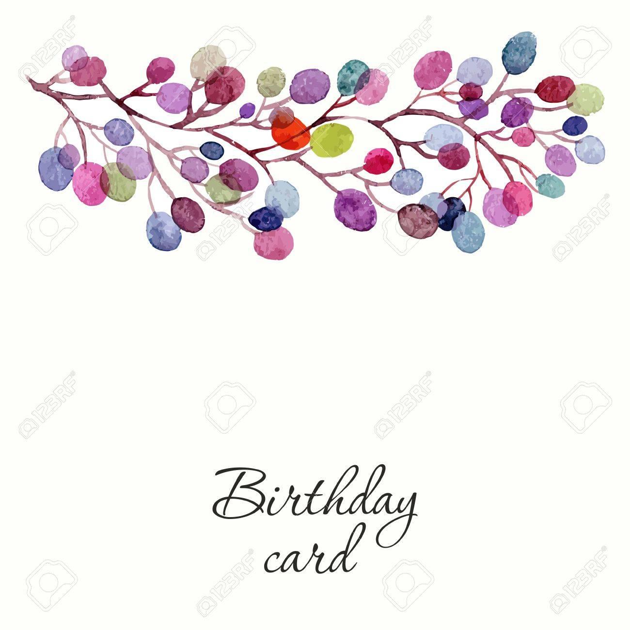 Invitation wedding or birthday card floral frame watercolor invitation wedding or birthday card floral frame watercolor background with flowers banco stopboris Images