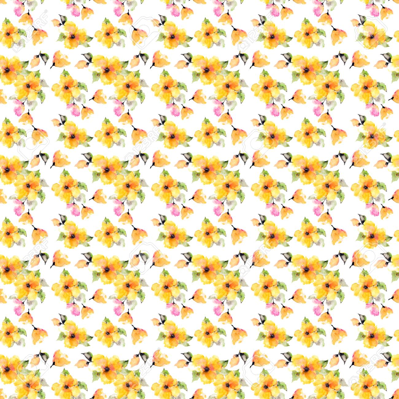seamless floral background fabric floral pattern textile pattern