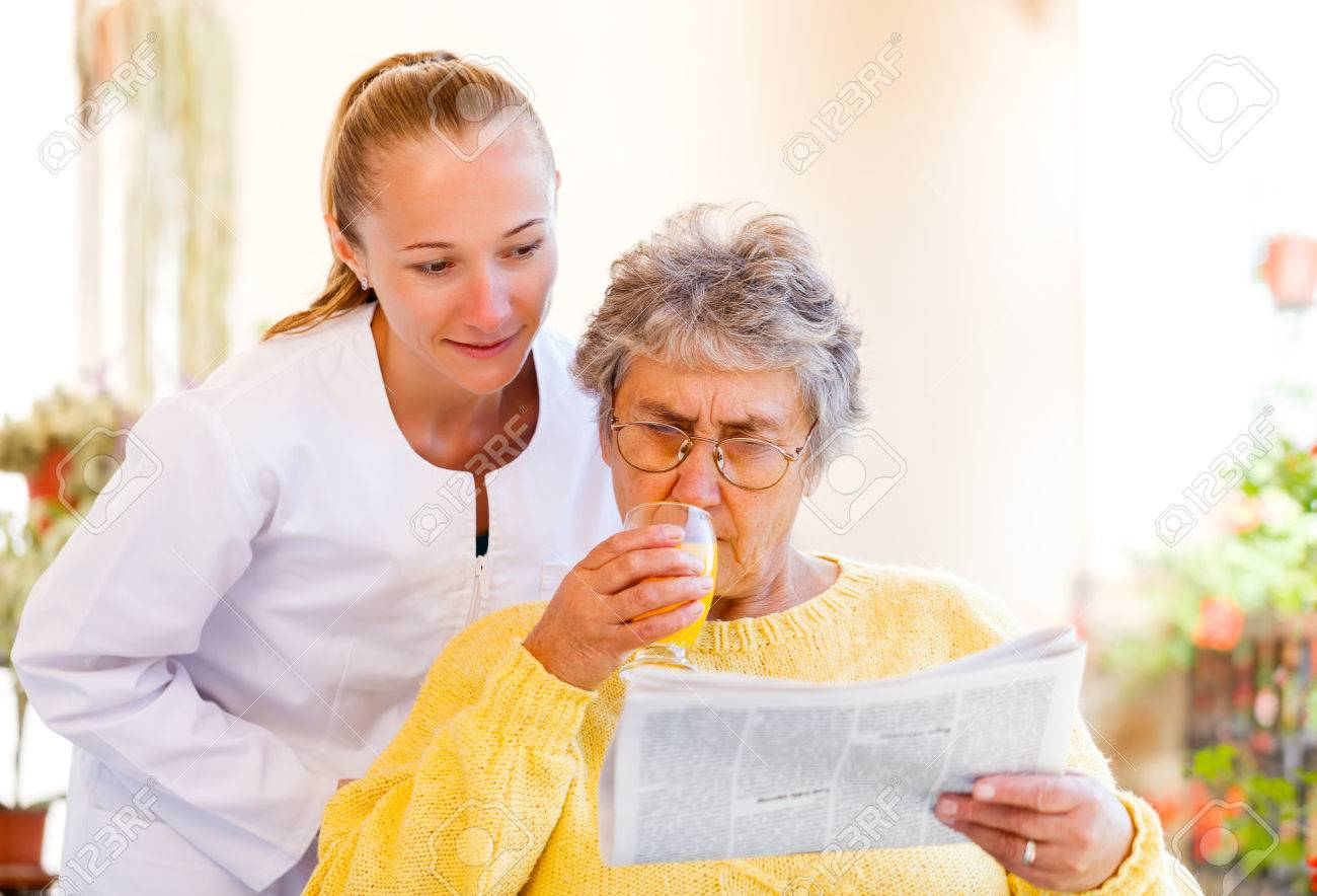 Find the right home care services for you Stock Photo - 23336710