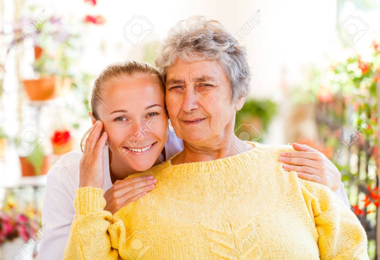 Find the right home care services for your loved Stock Photo - 23793607