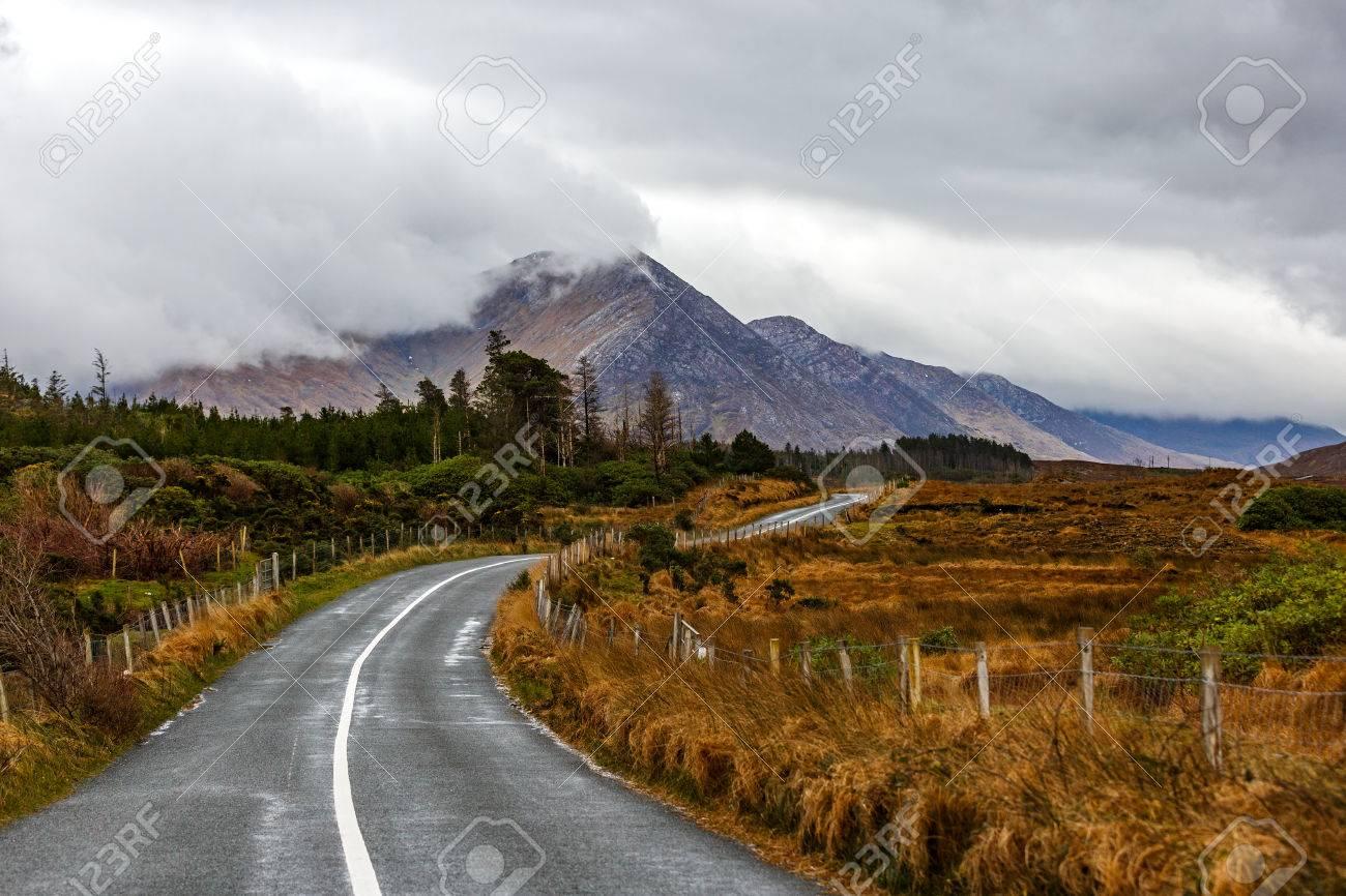 Journey on wild atlantic way in Connemara in Ireland - 53820410