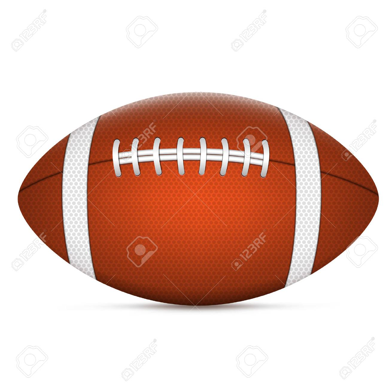 American Football Ball Royalty Free Cliparts Vectors And Stock Illustration Image 29168662