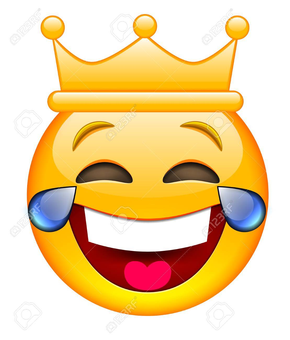 Laughing face with crown laughing emoji with crown laughing laughing face with crown laughing emoji with crown laughing smile emoticon with crown sciox Gallery