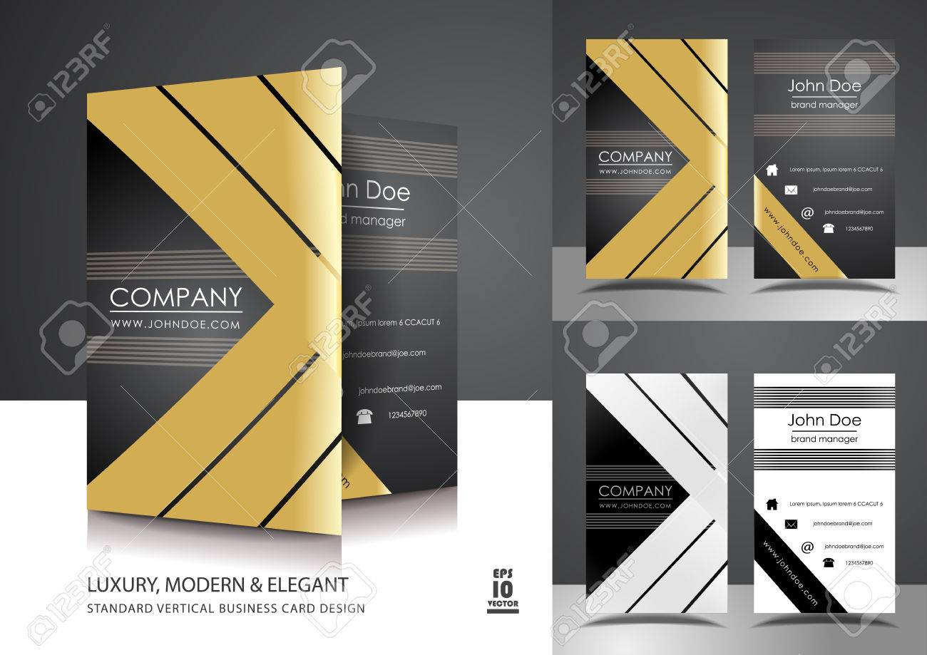 Palm tree business cards gallery free business cards business card design with photo images free business cards creative vertical business card design with gold magicingreecefo Images