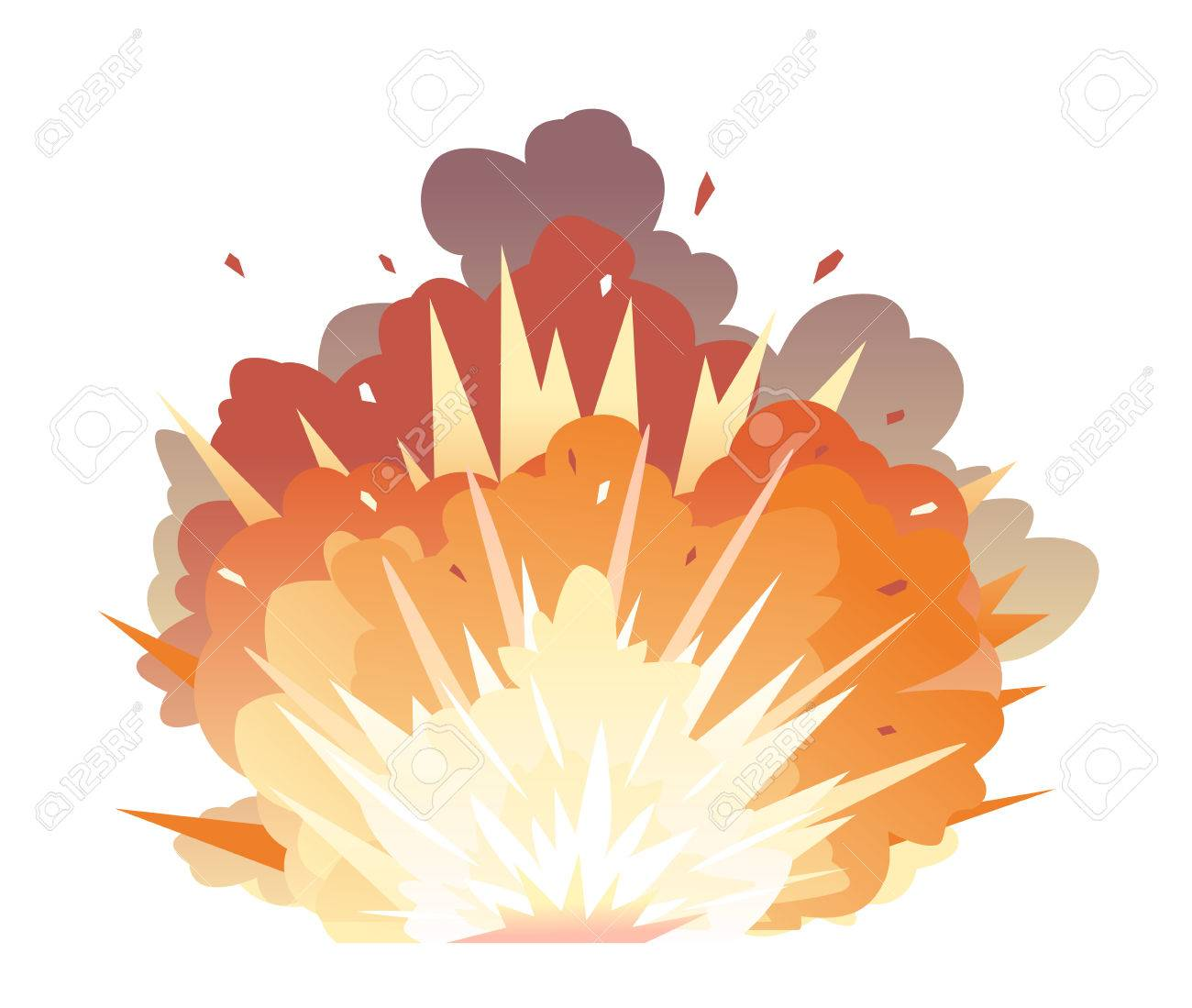 bomb explosion on ground royalty free cliparts vectors and stock illustration image 84412573 bomb explosion on ground