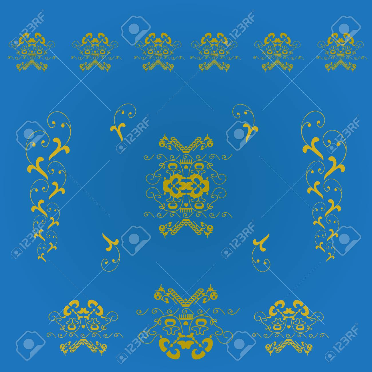 Seamless background with heraldic Stock Vector - 15095620