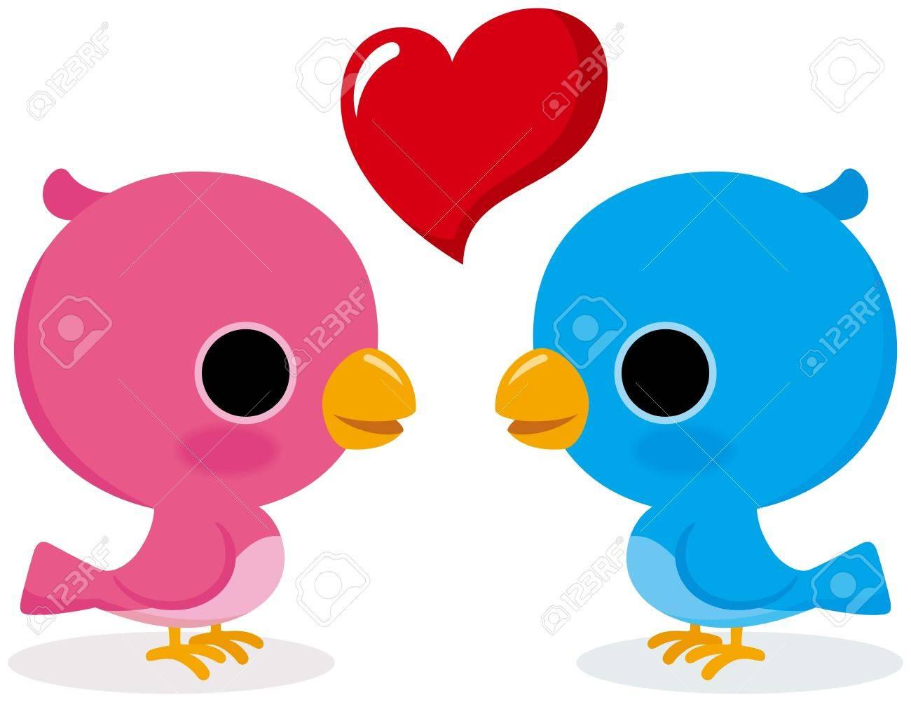 Bird lovers Stock Vector - 18066237