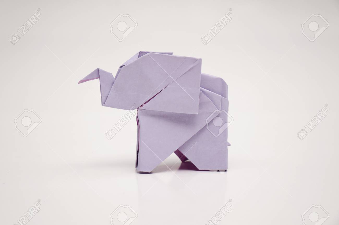 Origami elephant stock photo picture and royalty free image origami elephant stock photo 59200384 jeuxipadfo Choice Image