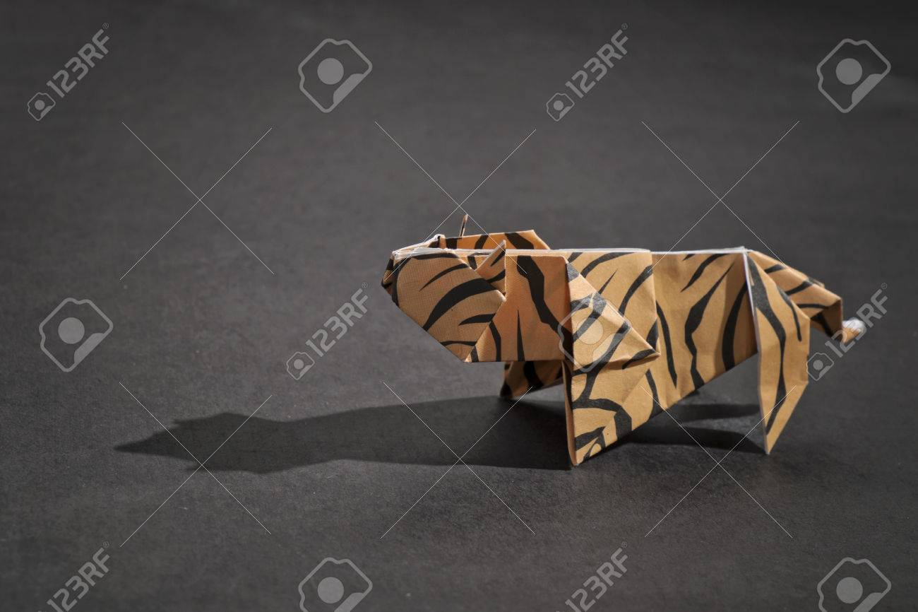 origami tiger – Caged Scorpion Origami | 866x1300