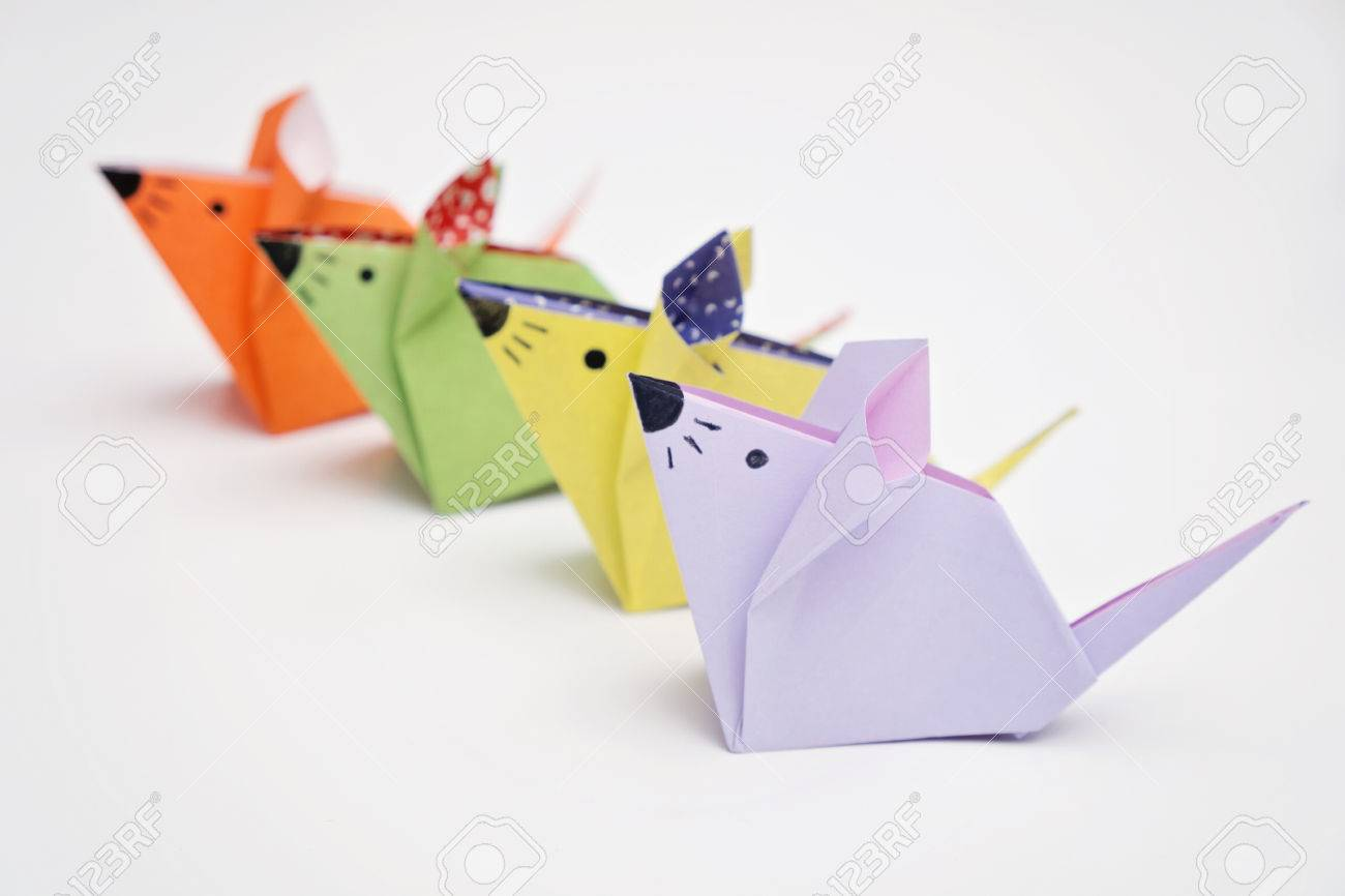 Origami mice stock photo picture and royalty free image image origami mice stock photo 59200422 jeuxipadfo Images