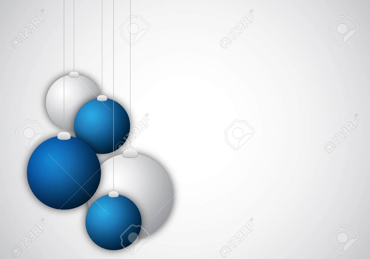 background with christmas balls for design Stock Photo - 6251432