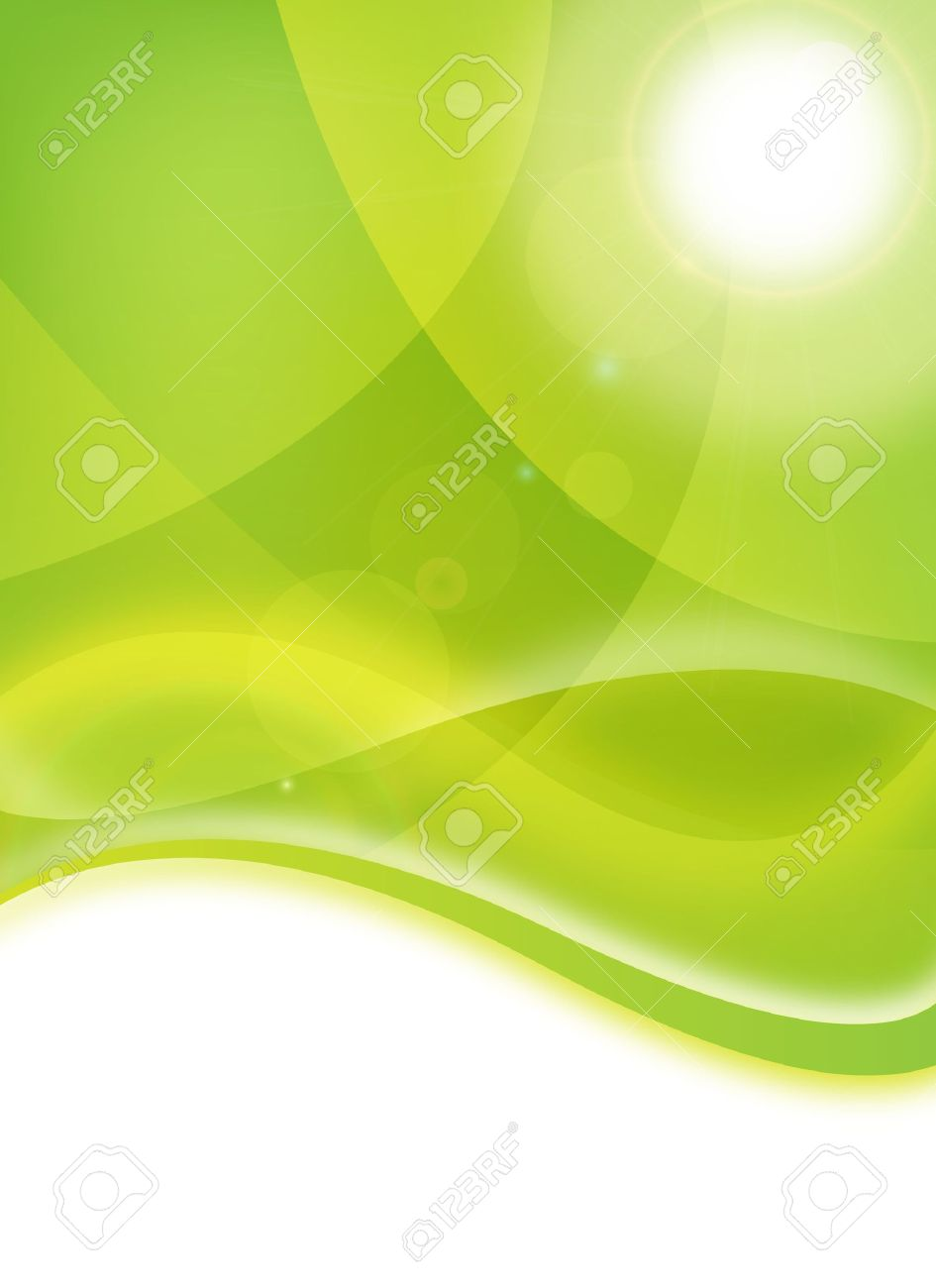 abstract green environmental eco flyer for design stock photo stock photo abstract green environmental eco flyer for design