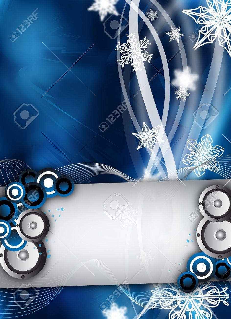 an abstract winter event party design stock photo picture and stock photo an abstract winter event party design