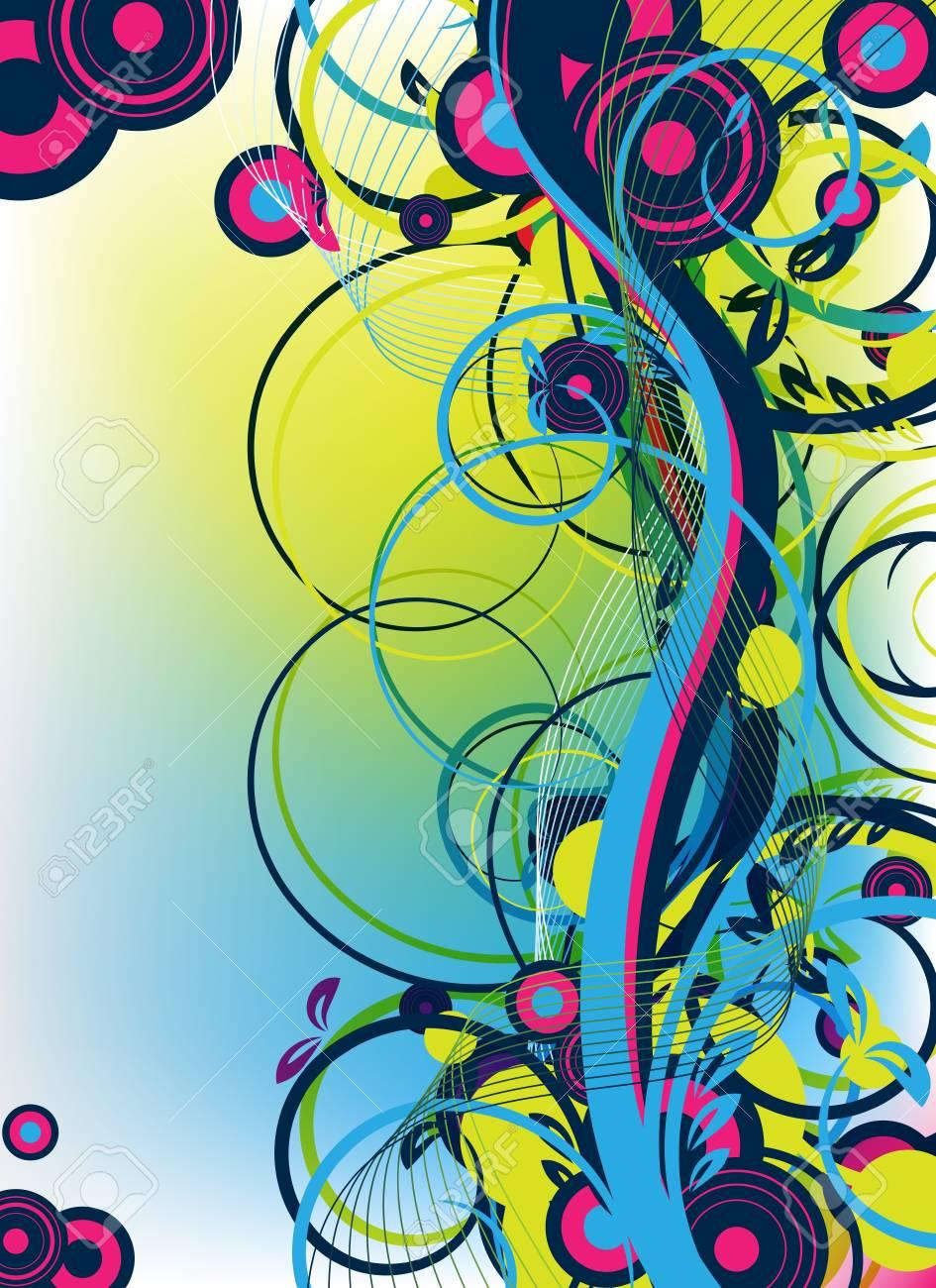 Contemporáneo El Diseño Del Arte Abstracto De Uñas Patrón - Ideas ...