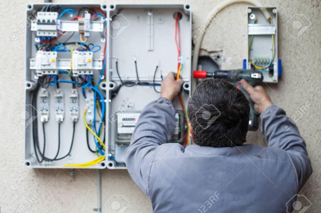 Ungewöhnlich Home Electrician Ideen - Elektrische Schaltplan-Ideen ...