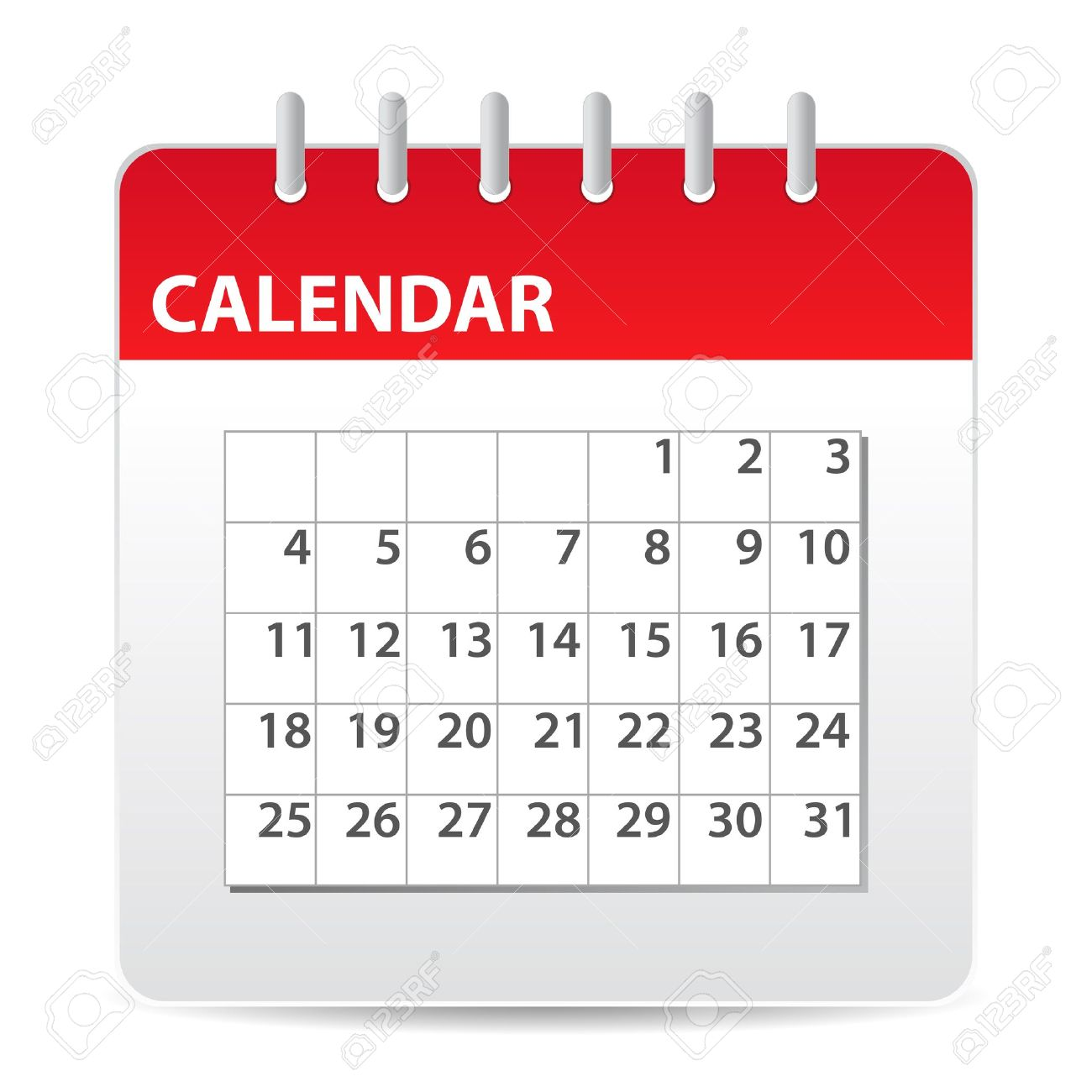 Calendar Events Event Red Calendar Icon With