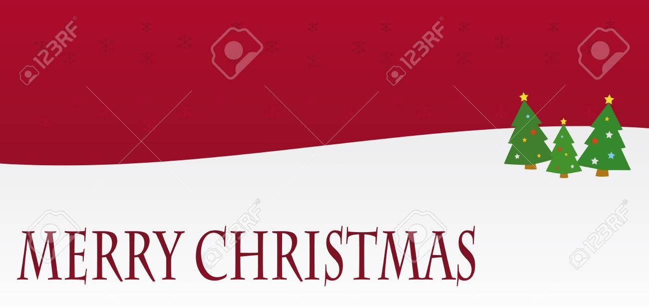 Rote Weihnachtskarten.Stock Photo