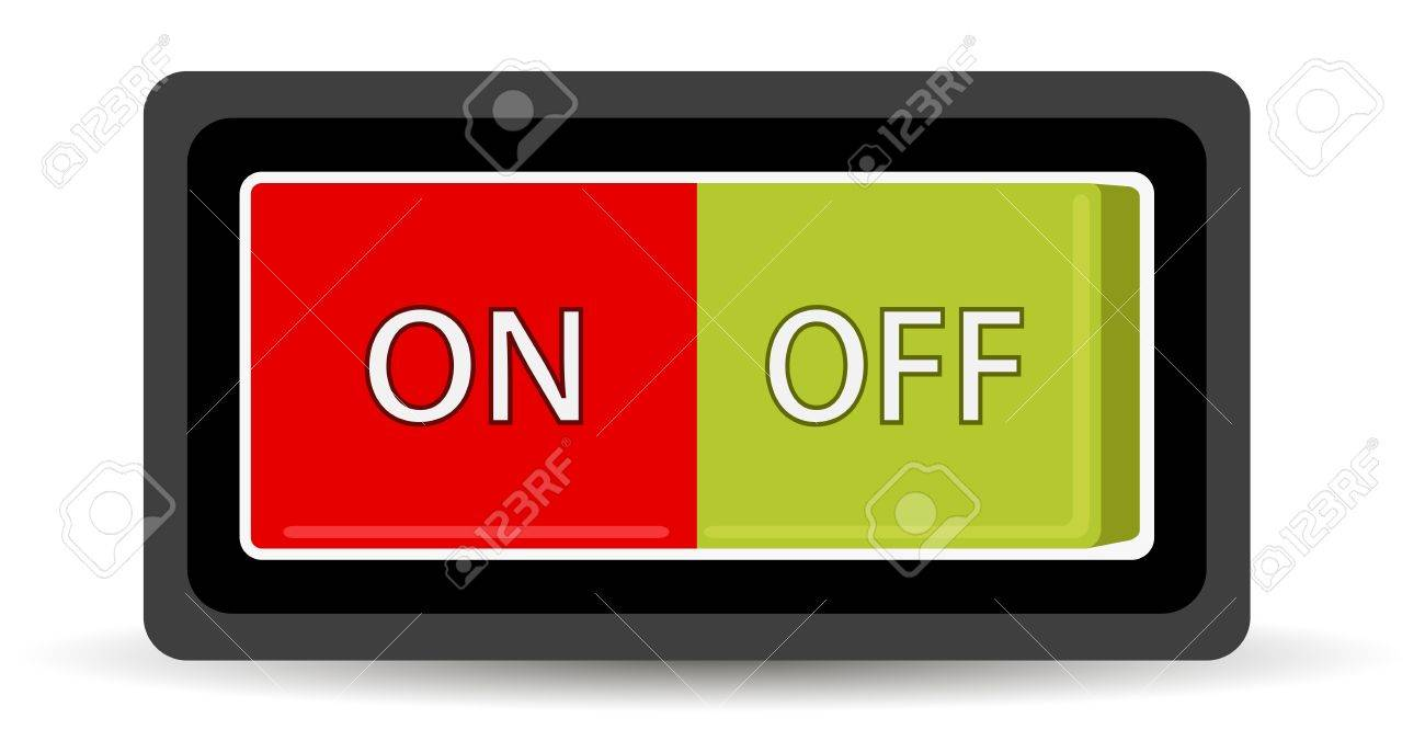 on off switch illustration royalty free cliparts vectors and stock